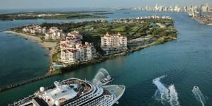 MSC Meraviglia: nel 2019 il posizionamento a Miami insieme a MSC Seaside e MSC Divina