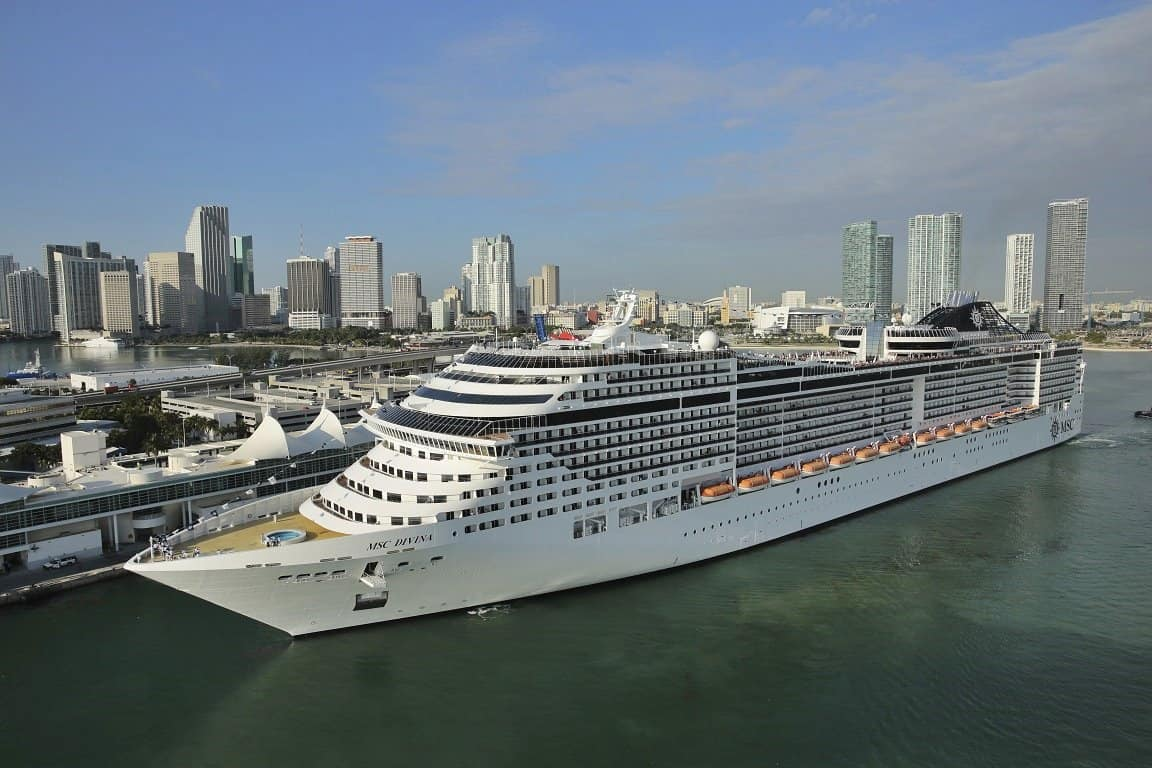 MSC Divina, MSC Crociere, Port Miami