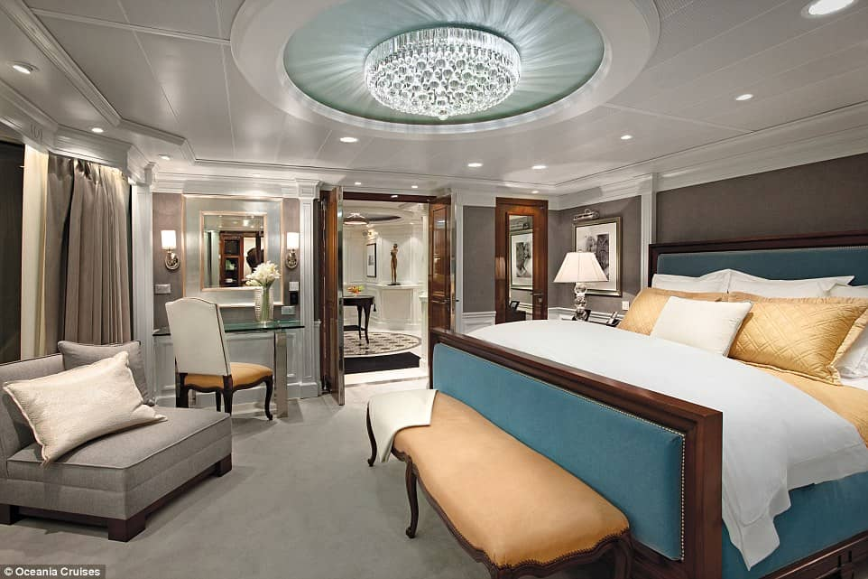 Owner's Suite, Oceania Cruises 1