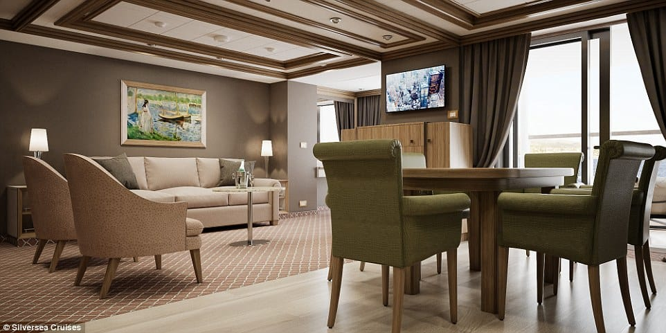 Owner's Suite, Silversea Cruises 1