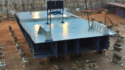 Fincantieri, al via i lavori in bacino per la nuova nave di Carnival Cruise Line