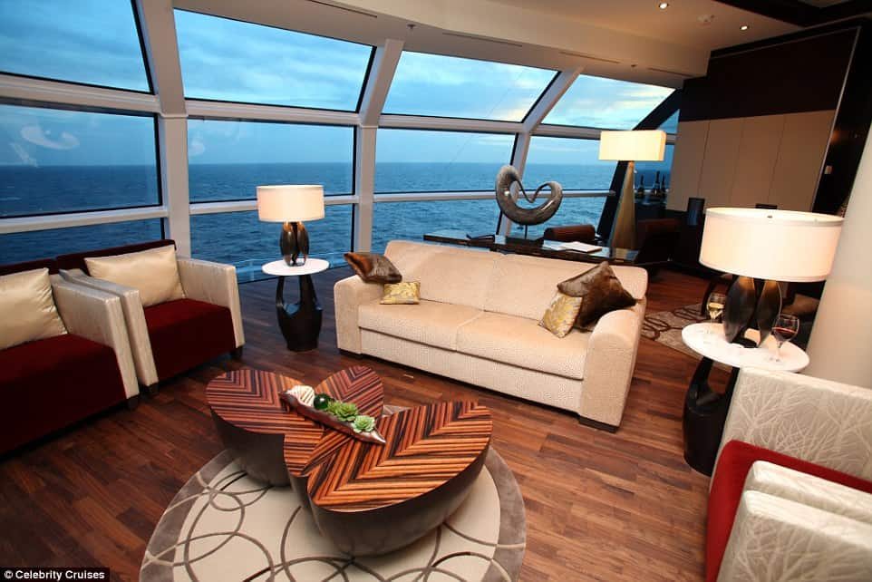 Reflection Suite, Celebrity Reflection, Celebrity Cruises 3