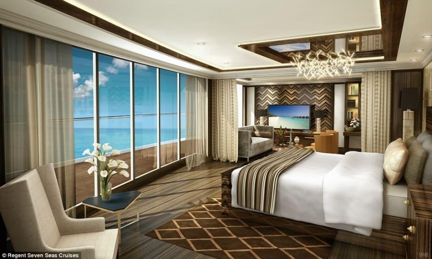SPA private e butler personali: le più esclusive, lussuose e costose suite in mare
