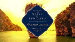 Oceania Cruises: nel 2018 una nuova esclusiva crociera di 180 giorni intorno al mondo