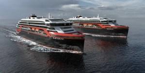 Hurtigruten ordina due nuove navi