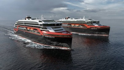 "Hurtigruten: nel 2018 e 2019 il debutto delle nuove navi ibride ""Roald Amundsen"" e ""Fridtjof Nansen"""