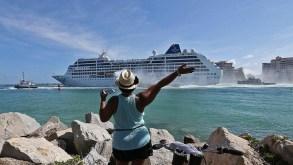 L'arrivo a Cuba della prima nave da crociera Usa in 50 anni