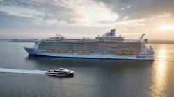 Royal Caribbean, Harmony of the Seas arriva a Southampton
