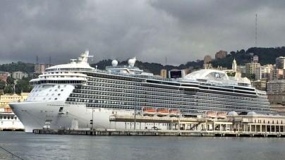 Prima volta a Genova per Royal Princess