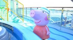 Costa Crociere: nuove aree dedicate a Peppa Pig in anteprima su Costa Diadema