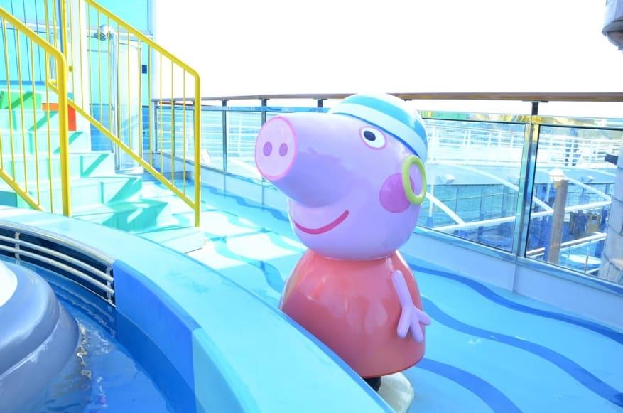 Costa crociere nuove aree dedicate a peppa pig in - Peppa pig piscina ...