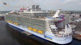 La maestosità di Harmony of the Seas dalla prospettiva di un drone