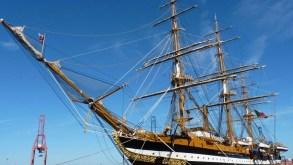 """Genova, arriva """"la nave più bella del mondo"""": dal 10 al 13 giugno la Vespucci in porto"""