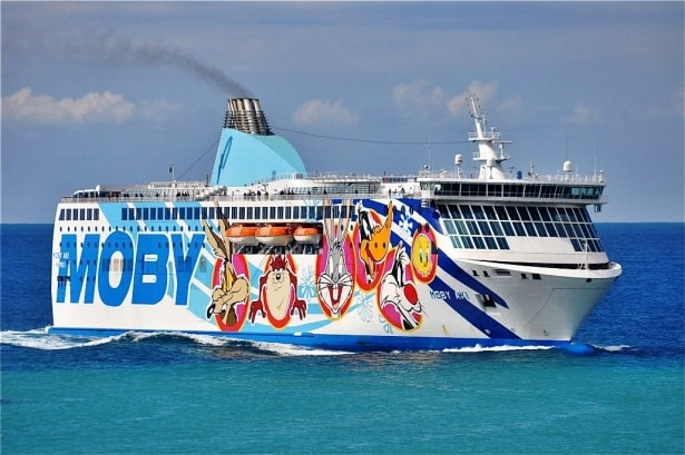 Moby Aki, Moby Lines
