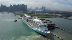 Royal Caribbean: nel 2017 il posizionamento di Ovation of the Seas a Singapore