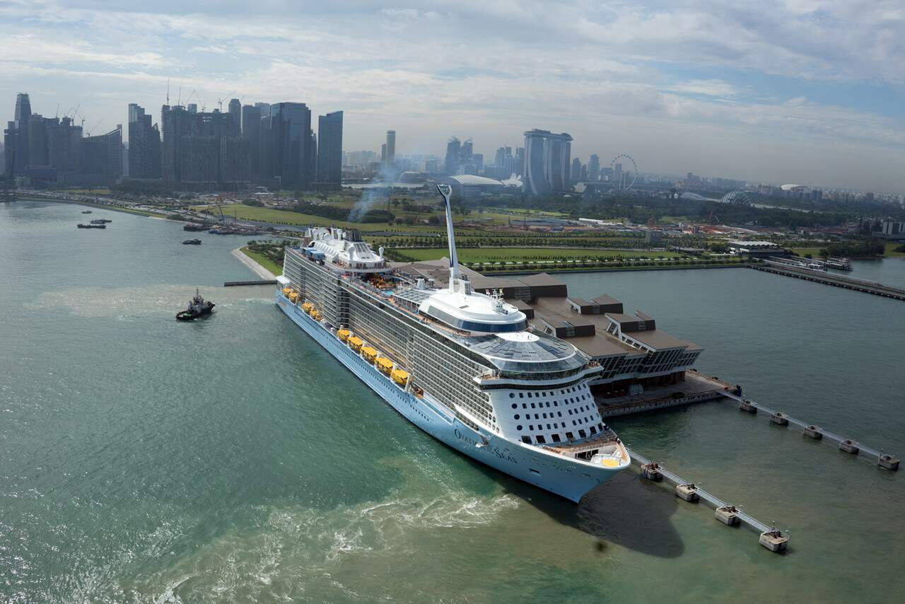 Ovation of the Seas, Royal Caribbean International, Singapore