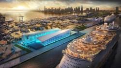 Royal Caribbean Cruises realizzerà un nuovo e moderno terminal crociere a Port Miami