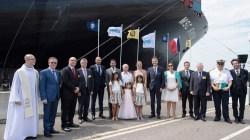Prende il largo da Le Havre MSC Sveva, la portacontainer più grande del mondo. Il 3 giugno 2017 il varo di MSC Meraviglia