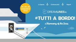 Da Dreamlines torna il #Tuttiabordo con la nave da crociera più grande del mondo, Harmony of the Seas!