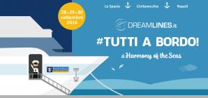 Da Dreamlines la seconda edizione del #Tuttiabordo con la nave da crociera più grande del mondo, Harmony of the Seas!