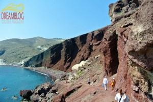 Read Beach, Santorini
