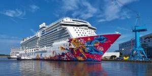 I cantieri Meyer Werft consegnano la Genting Dream. A bordo arredamenti Made in Italy di Tino Sana