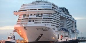MSC Meraviglia: al via da oggi le prime prove in mare aperto