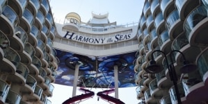 #Tuttiabordo di Harmony of the Seas: alla Spezia la prima tappa dell'evento Dreamlines sulla nave più grande del mondo