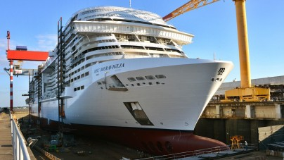 MSC Bellissima il nome della seconda nuova smart ship di MSC Crociere. Celebrato oggi il varo tecnico di MSC Meraviglia