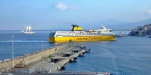 Capodanno in Corsica, Costa Azzurra e Napoli con le navi gialle di Corsica Sardinia Ferries
