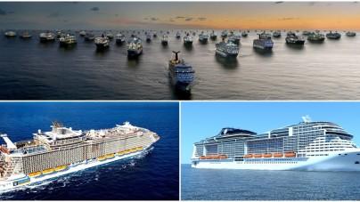 Nuove navi da crociera: il nostro Orderbook aggiornato