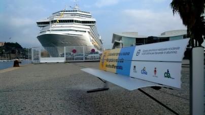 """""""Message in a Can"""": Costa Crociere e Consorzio CIAL donano tre panchine alla città di Savona"""