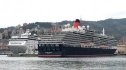 Maiden Call a Genova per Queen Victoria.