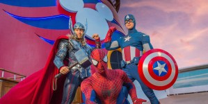 Marvel Day at sea a bordo di Disney Cruise Line