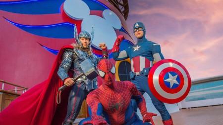 Marvel Day at sea a bordo di Disney Cruise Line