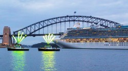 Maiden Call per Emerald Princess a Sydney