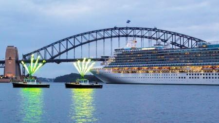 Maiden Call per Emerald Princess a Sydney