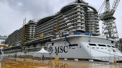 VIDEO: MSC Seaside, a bordo della più grande nave da crociera mai costruita in Italia