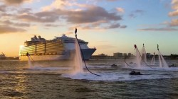 VIDEO: grande festa a Port Everglades per la prima partenza di Harmony of the Seas dal suo nuovo home port