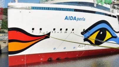 AIDA: da luglio 2017, con due mesi di anticipo, la nuova AIDAperla posizionata nel Mediterraneo