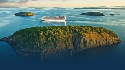 Princess Cruises: nel 2018 crociere in Canada & New England con le due navi ammiraglie Royal e Regal Princess