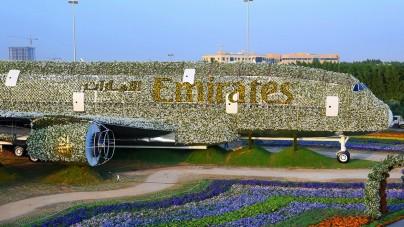 Nuovo Guinness World Record a Dubai per la più grande installazione floreale del mondo