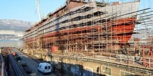 Varo tecnico in Croazia per Flying Clipper, il nuovo 5 alberi di lusso della flotta Star Clippers