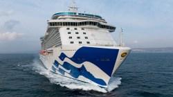 """Trieste pronta ad accogliere il debutto di Majestic Princess. Fuochi d'artificio speciali per salutare la partenza della nuova """"Love Boat"""""""