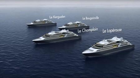Ponant: a bordo dei nuovi luxury yacht anche le prime lounge sottomarine del settore