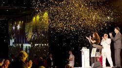 Battezzata a Singapore Seabourn Encore. Il soprano Sarah Brightman madrina della cerimonia