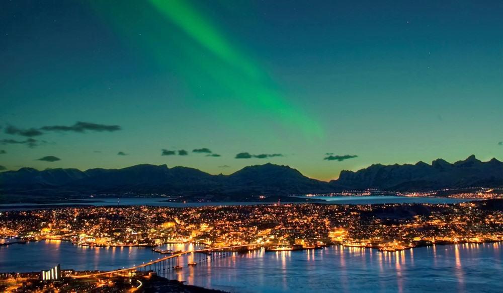 Tromso, Norvegia, Nord Europa