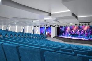 934 seat Metropolitan Theatre