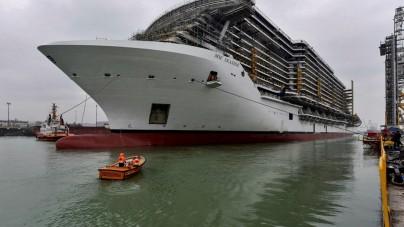 Prime prove in mare per MSC Seaside