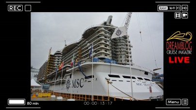 Visita a bordo di MSC Seaside e Coin Ceremony per MSC Seaview: speciale diretta web da Fincantieri Monfalcone